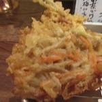 天ぷら・鉄板焼酒場 しん家 - きんぴらのかき揚げ(¥150)