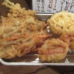 天ぷら・鉄板焼酒場 しん家 - 天ぷら各種