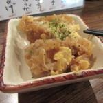 天ぷら・鉄板焼酒場 しん家 - お通しのかつ煮