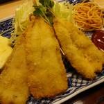 一福食堂 - 魚フライ