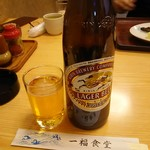 一福食堂 - 瓶ビール(大) 630円