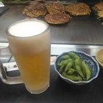 あべとん - ビールも