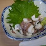 大衆割烹 藤八 - 大好物の蛸イボ( ̄¬ ̄*)ジュルリ
