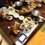 神倶良 - 料理写真:夕食