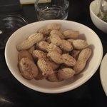 椿 - 茹でたピーナツ