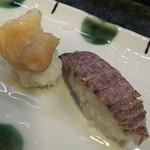 寿司奴 - 一皿380円のミルとシャコ