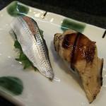 寿司奴 - 一皿380円のコハダと穴子