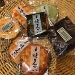 和泉屋 - 買った煎餅たち。