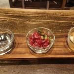日本酒スタンド YOUMA - ちょい飲みセット1000円