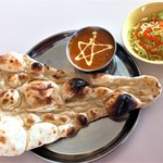 インド料理ナンハウス - 料理写真:シンプルセット(600円)
