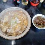 キッチンあべ - あんかけチャーハン(スープ付き)