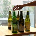 ナイン ストーリーズ - グラスワインも充実