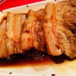 上海食亭 - 豚の角煮(650円)