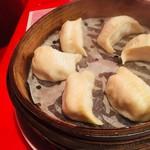 上海食亭 - 蒸し餃子(650円