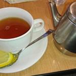 81536438 - 和定食の紅茶