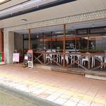 カフェeジェラート モアレ - 商店街に面した表側