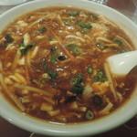 上海厨房 家楽 - 酸辣湯