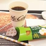 81537926 - ホットコーヒーS100円 ホットアップルパイ90円