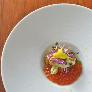 日本の伝統を大切に、西洋の文化に学ぶ。素材が活きる創作和食