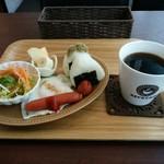 キーズ カフェ - 料理写真:おにぎりセット