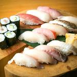 今日の寿司盛り(12カン)