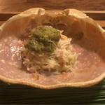 松川 - 間人蟹の飯蒸し