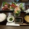 ビストロ居酒屋 懐 - 料理写真:「鮮魚のお造り盛り合わせ定食」