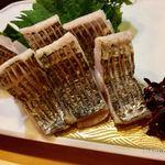 鮨 ひでぞう - 太刀魚炙り