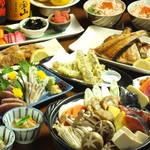炉端焼 うだつ - 料理写真:【歓迎会・送別会・宴会】冬のうだつコース[120分]