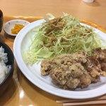 豊浜サービスエリア下り線 スナックコーナー・フードコート - ・唐揚げ定食