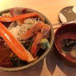 81548574 - 豪華海鮮丼&お吸い物