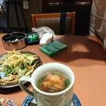 81551572 - サラダと角煮