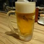 博多たんか - なまビール 外税420えん