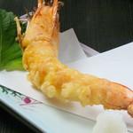 八庄屋 - 大海老の天ぷら