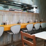 プチレストラン 喜和深 - ポップな店内
