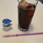 プチレストラン 喜和深 - アイスコーヒー