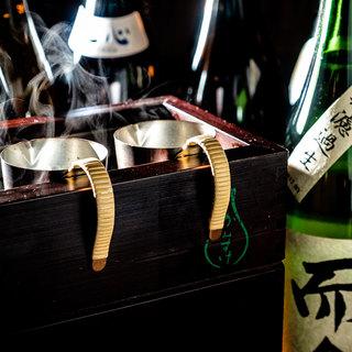 日本酒は温度の変化で楽しむ♪