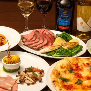 ~Banchetto~イタリアの魅力を詰め込んだ飲放付コース