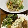 囲み家 - 料理写真:野菜炒め・チキン南蛮
