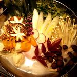名古屋コーチン専門居酒屋 鳥銀邸 はなれ - (2018.02)厳選鶏と新鮮野菜の水炊き鍋