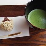 Cafe 椿 - 抹茶セット