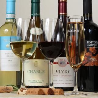 毎日変わるオススメフード&グラスワイン