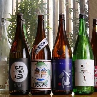 今日からアナタも日本酒女子♪希少な銘柄多数ご用意!