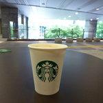 スターバックスコーヒー - 緑が見えるテラス席