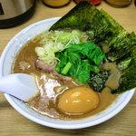 8156697 - ラーメン(太麺)+味付卵