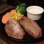 肉バル MEAT BOY N.Y - イチボステーキ250g