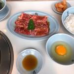 食道園 - 半冷麺カルビランチセット