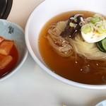 食道園 - セットの半冷麺