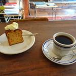 オキーフ - キャロットケーキとコーヒー
