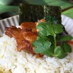WAIWAI アジアのごはんやさん - 日替わりランチのアボド丼アップ